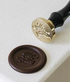 "Schokoladen Stempel ""Happy Birthday"" | 3 cm"