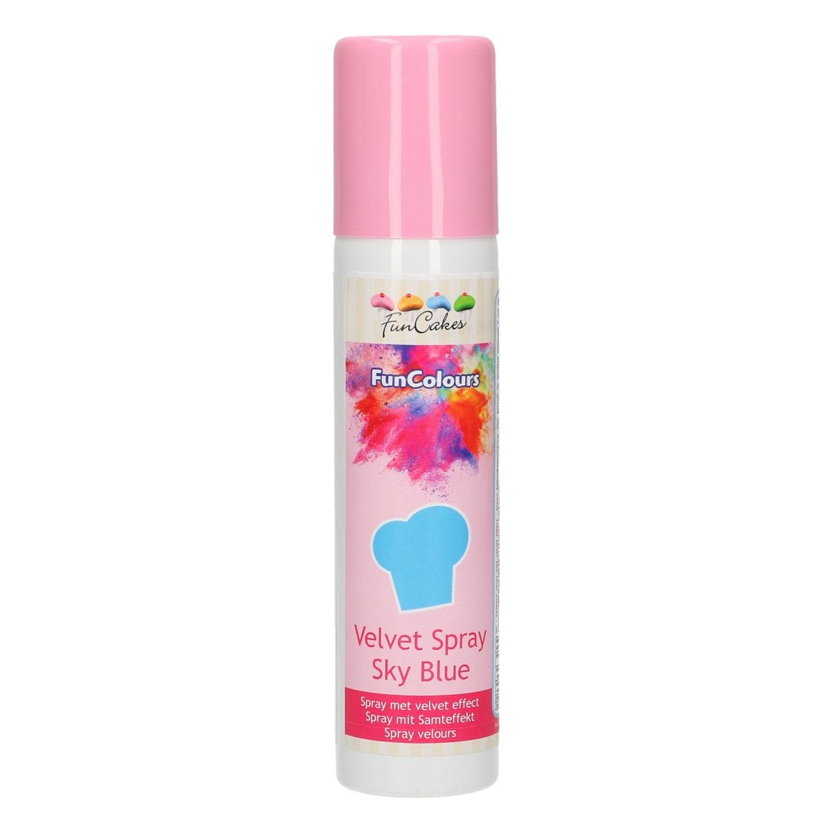 Velvet Spray himmelblau 100 ml