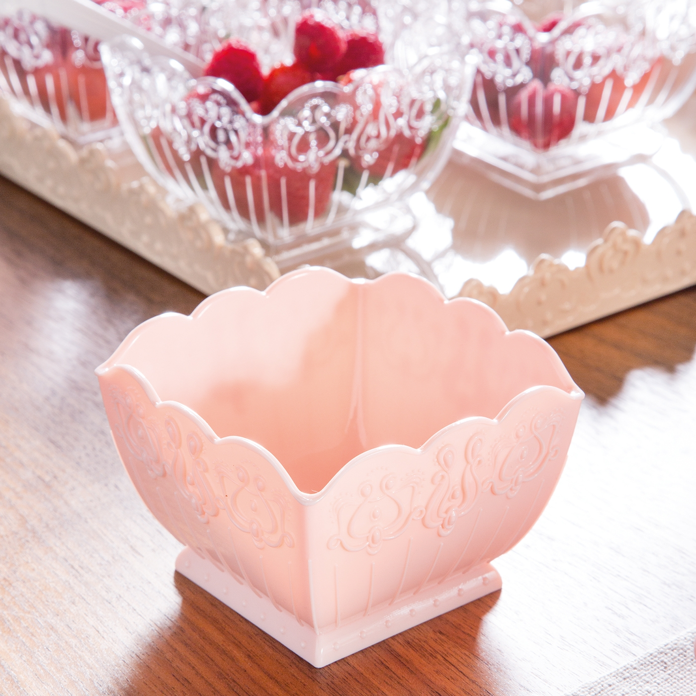 Dessertschüssel Rosé