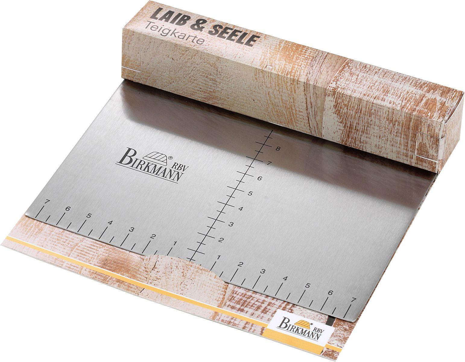 Teigkarte 15 x 11,5 cm