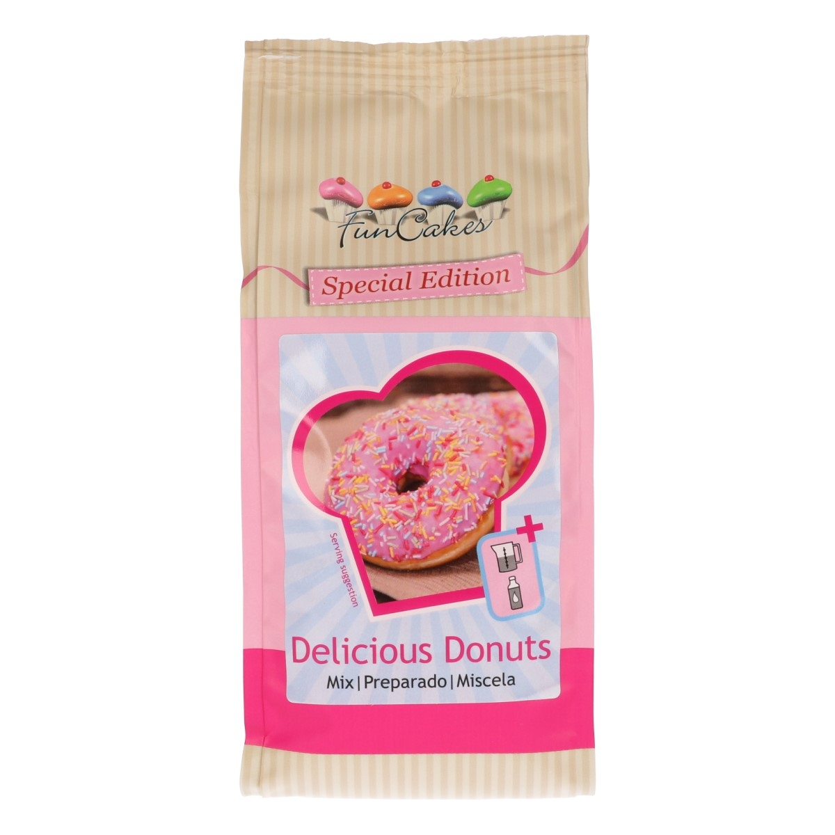 FunCakes Backmischung Donuts
