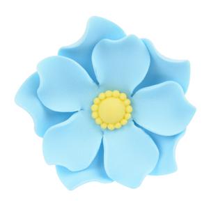 Zuckerblume blau Kapuzinerkresse