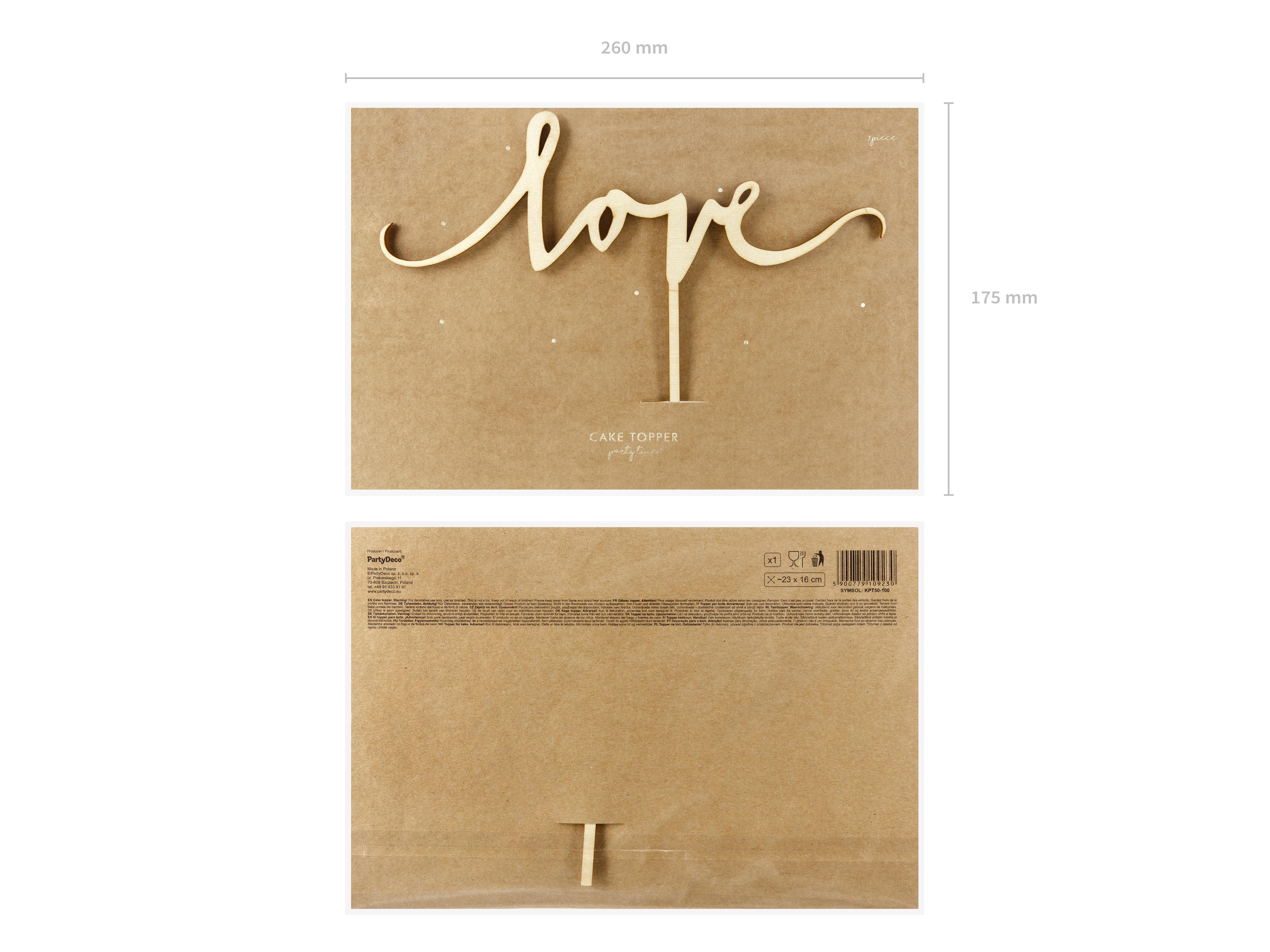 Holztopper Love