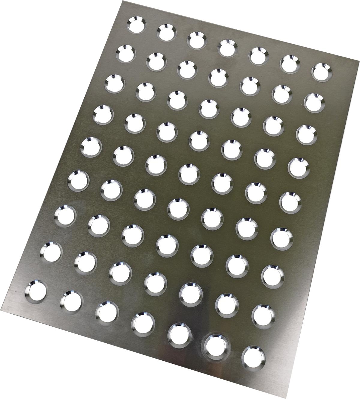 Schließschablone für Hohlkugeln