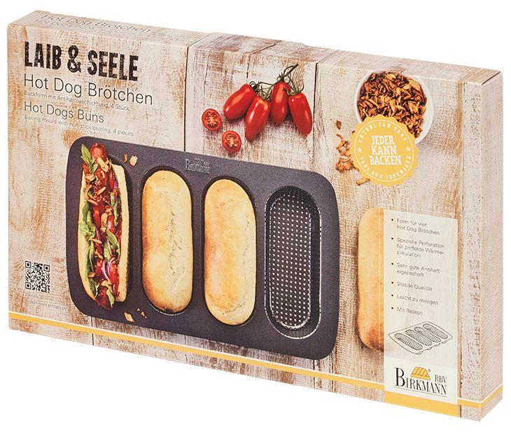 Hot Dog Brötchen-Blech