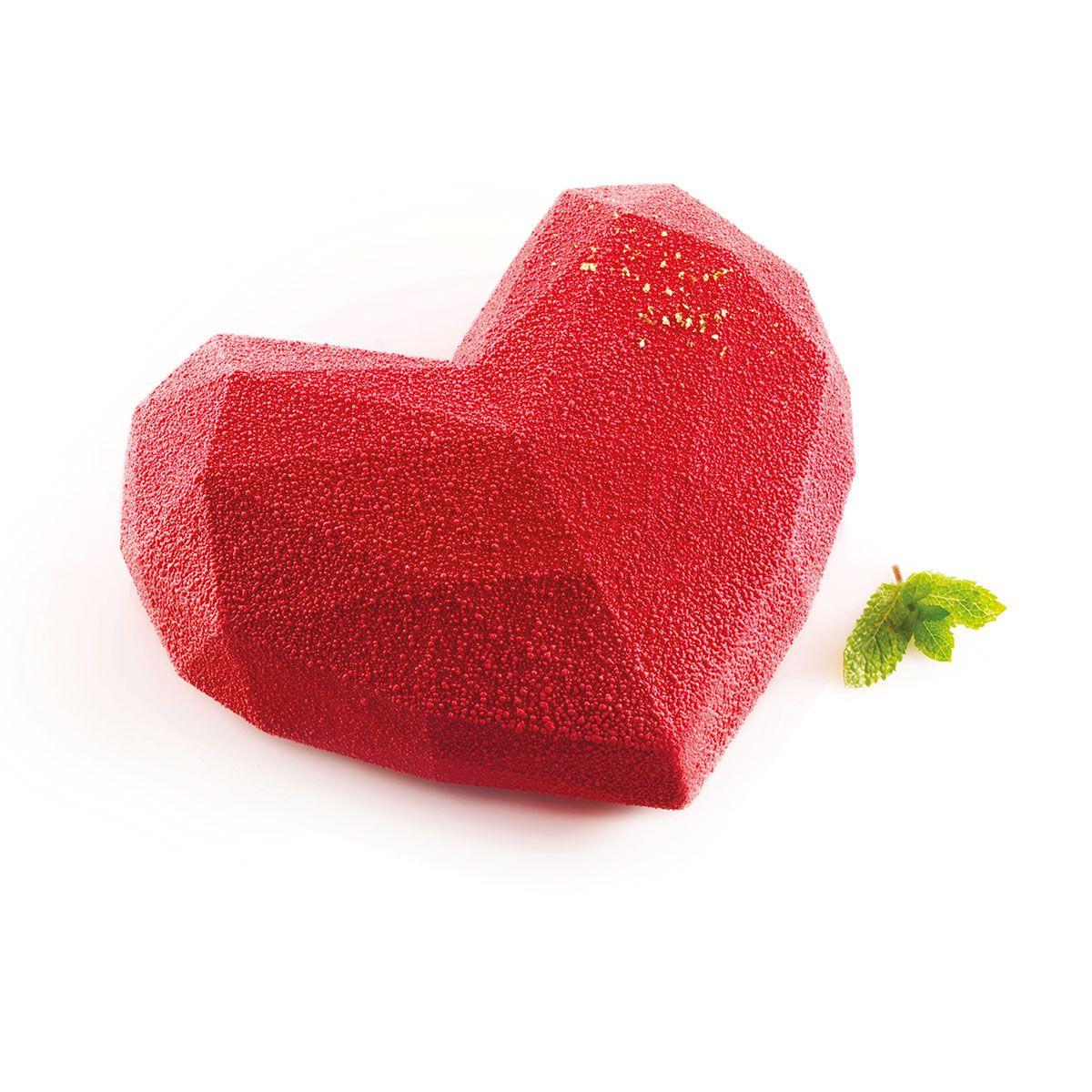 Silikomart Silikonform Amore Origami | geometrisches Herz