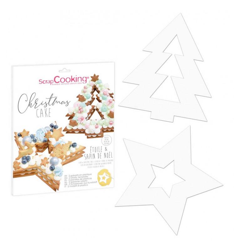 Schablonen Set Weihnachten 2er