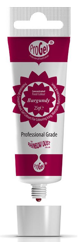 Gelfarbe Burgund