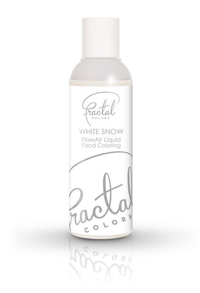 Fractal Airbrush Farbe Schneeweiß