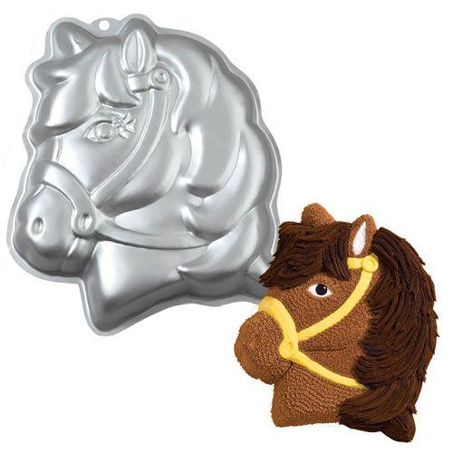 Motivbackform Pferd