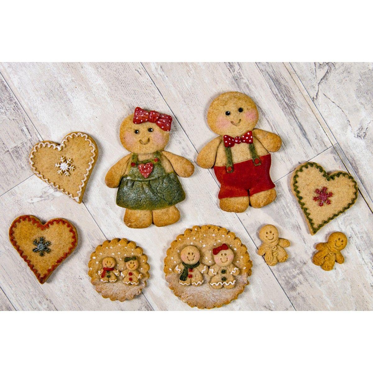Silikonform Karen Davies | Gingerbread Cookie