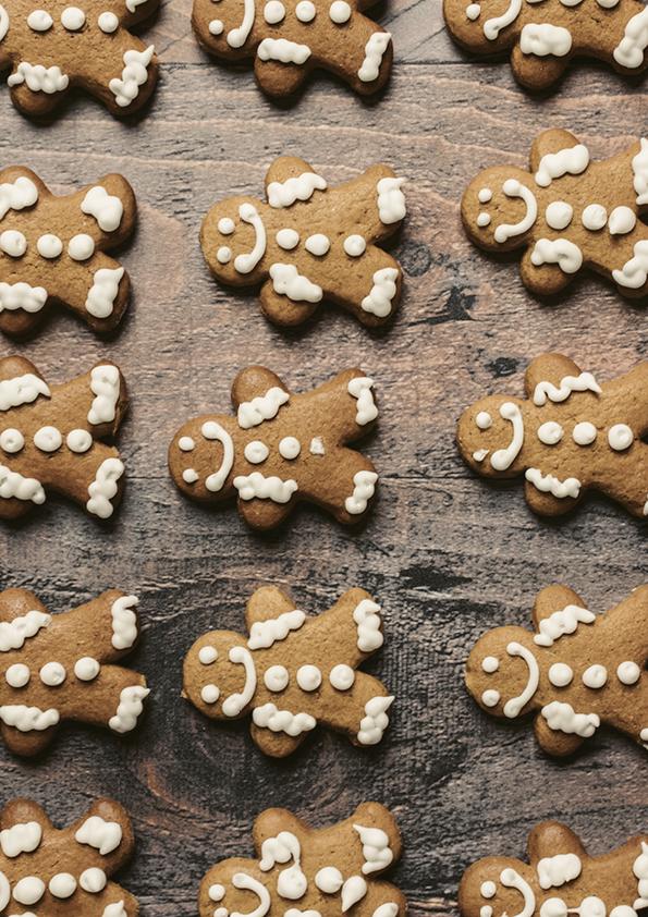 """Rouladendekor """"Weihnachten Lebkuchen"""""""