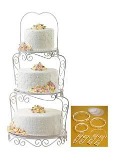 ZUM AUSLEIHEN Tortenständer Graceful Tiers Cake Display