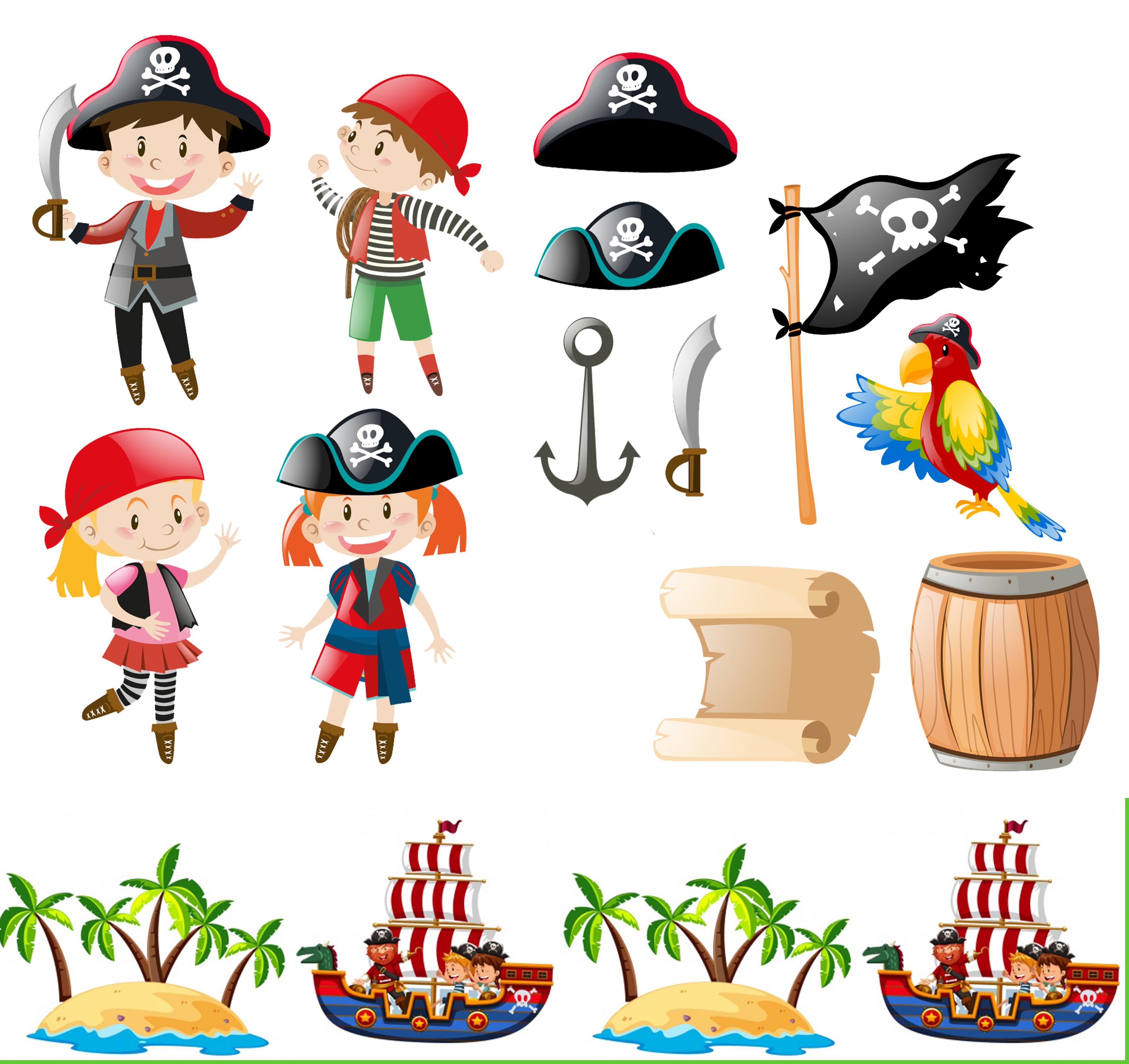 Wafer Paper bedruckt - Pirat