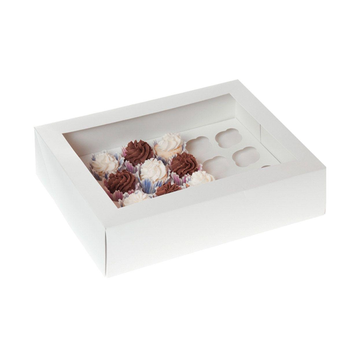 Mini Cupcake Box 33,9 x 25,4 x 9,6 cm   2 Stk.