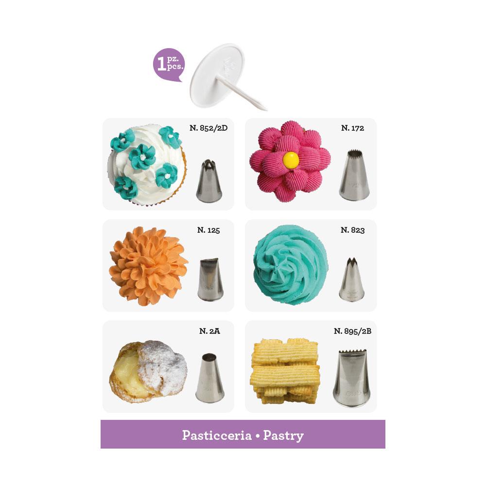Spritztüllen Set Patisserie | 7 Teile