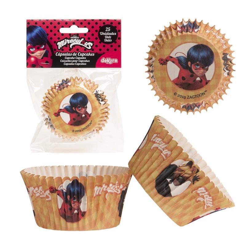 Papierförmchen Muffin / Cupcake Ladybug