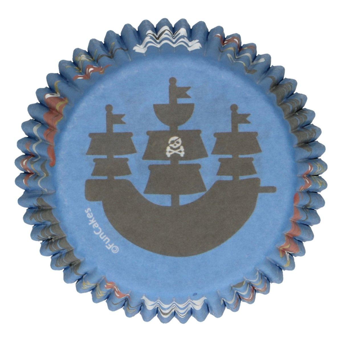 Muffin- / Cupcakeförmchen Pirat 5 cm
