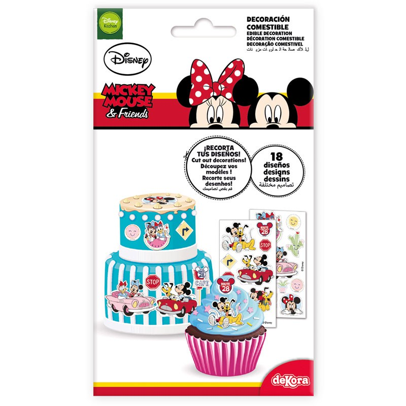 Muffinaufleger Mickey Mouse