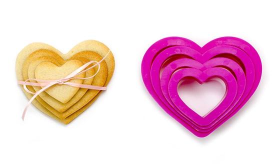 Ausstecherset Herz