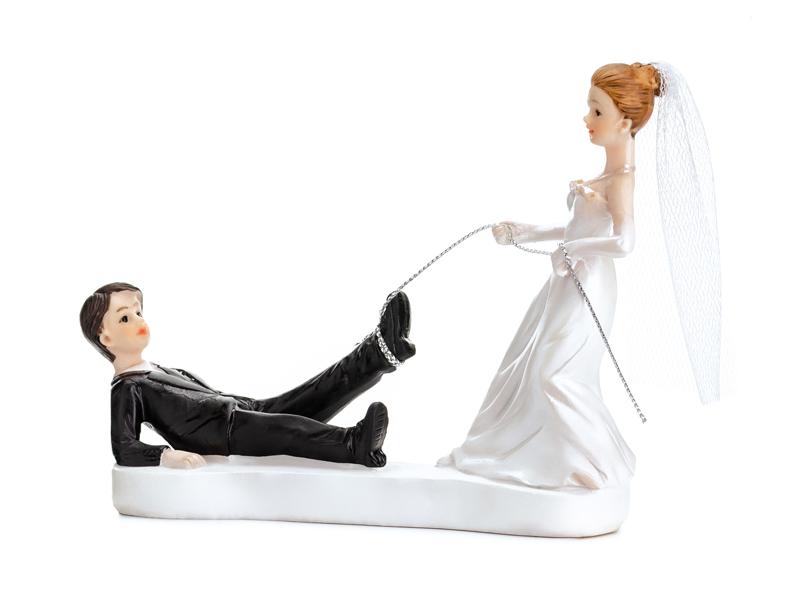 Brautpaar mit Seil