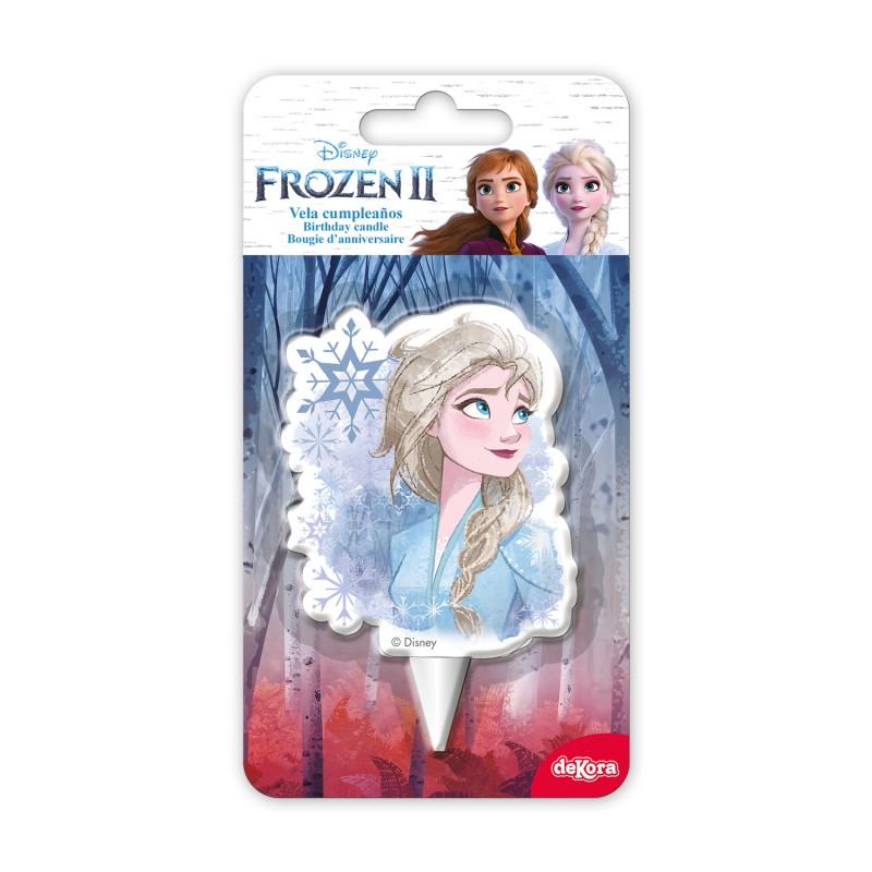 Kerze Elsa Eiskönigin Frozen II 7,5cm