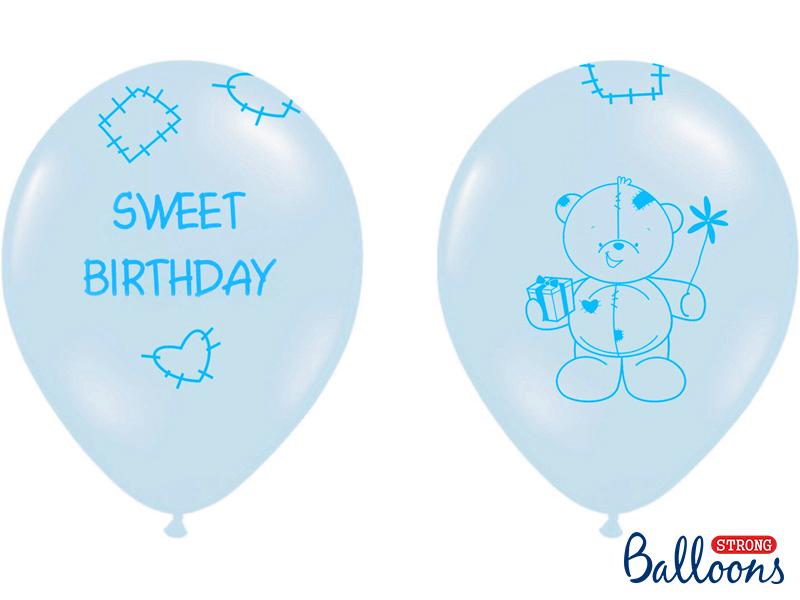 Ballons Sweet Birthday