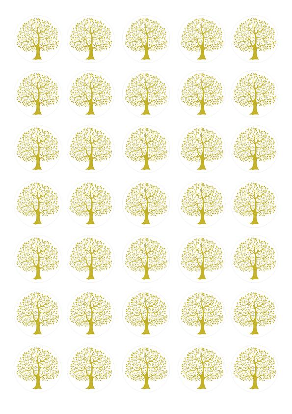 """Zuckeraufleger """"Baum des Lebens"""""""