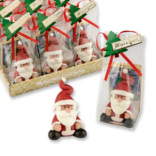 Marzipan Weihnachtsmann Nikolaus handgemacht