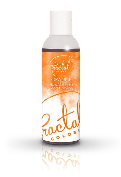 Fractal Airbrush Farbe Orange