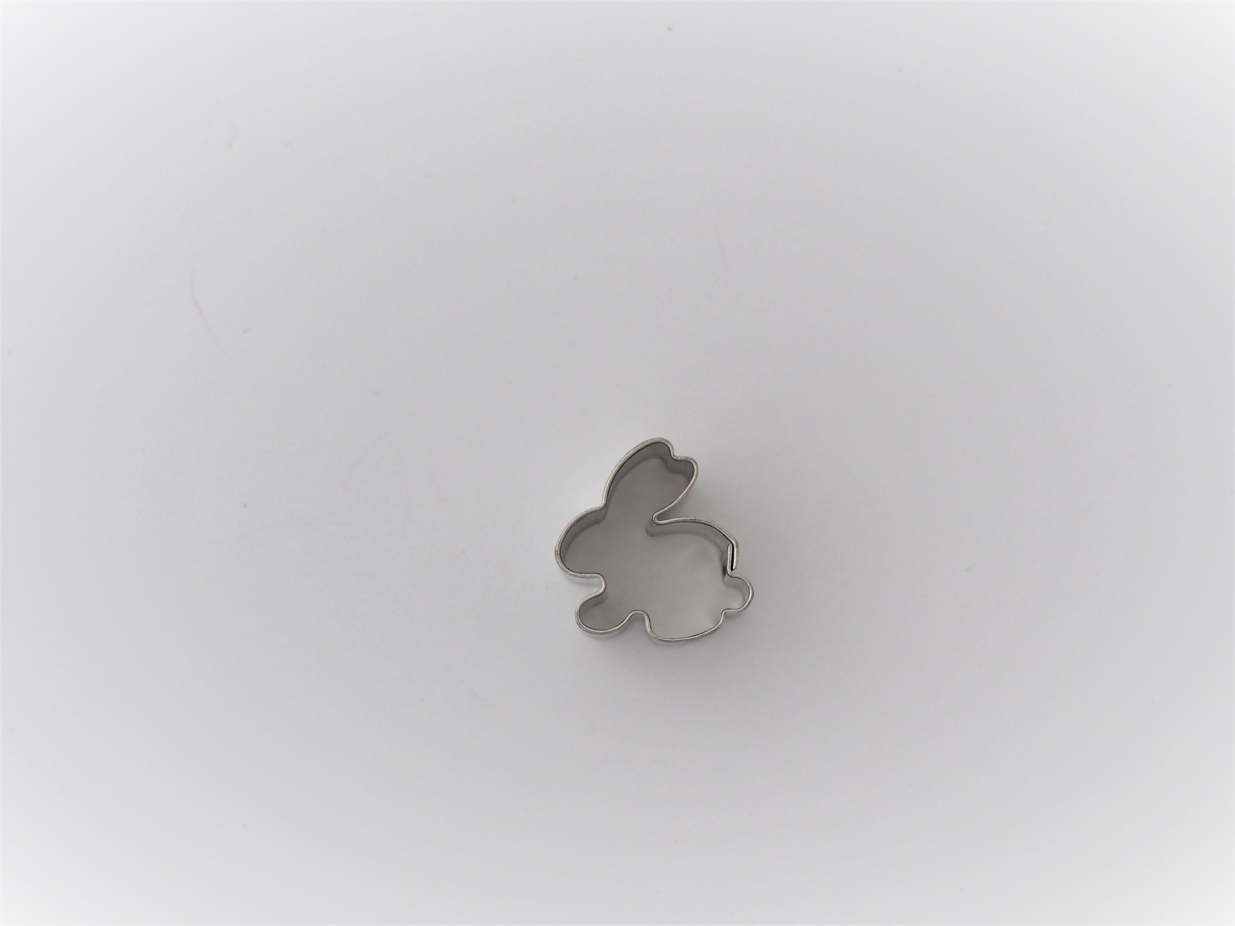 Ausstecher Hase Mini 2 cm