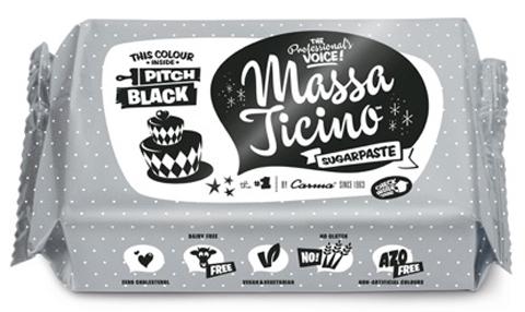 Massa Ticino Tropic 250g schwarz