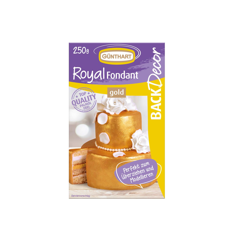 Rollfondant Gold