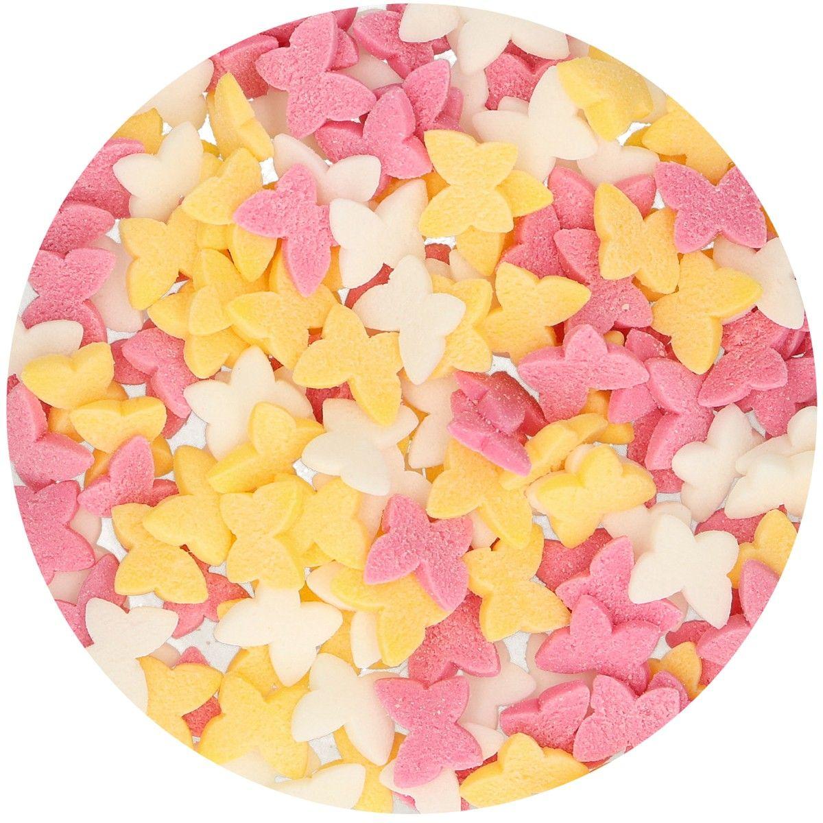 Zuckerdekoration Schmetterlinge 50 g