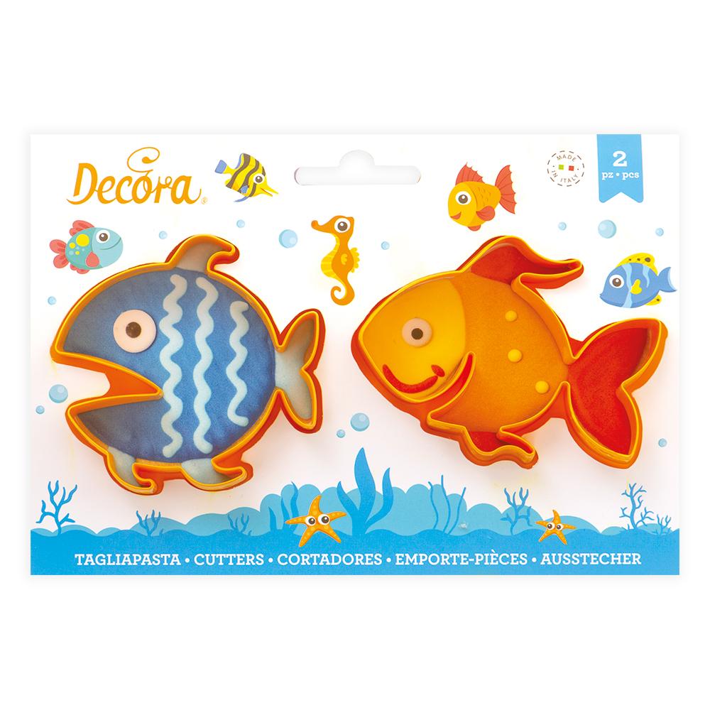 Ausstecher  Fische