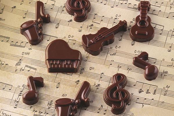 Gussform Choco Melody