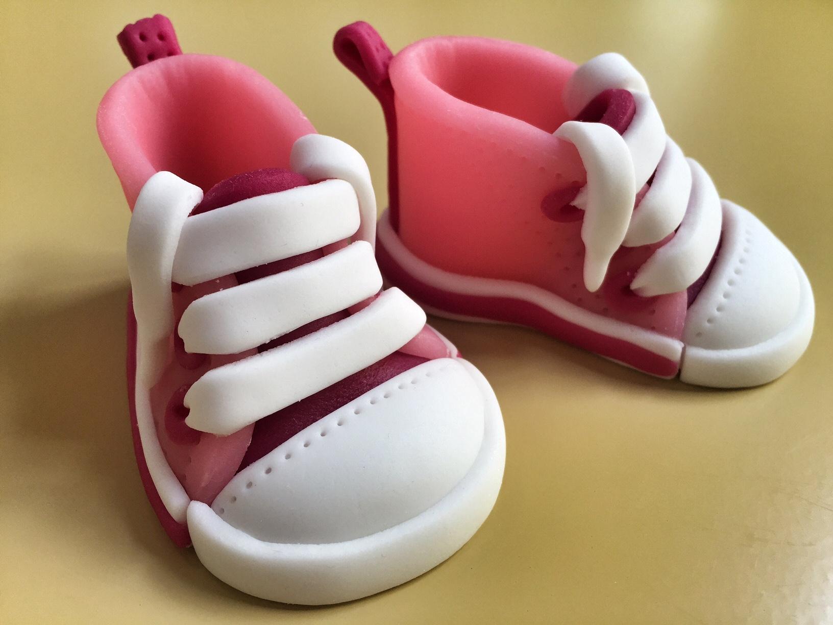 Babyschuhe rosa 7x3,5cm