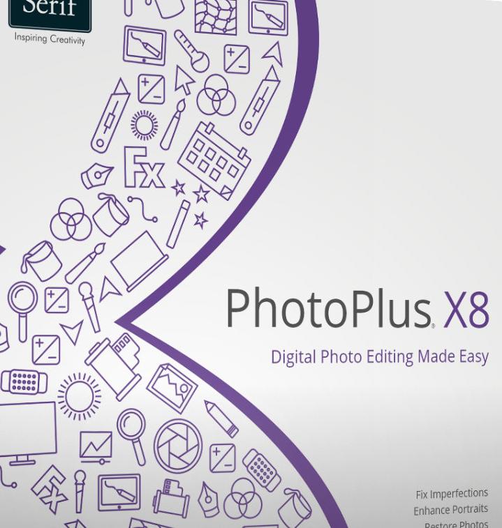 Bildbearteitungsprogramm Serif PhotoPlus X8
